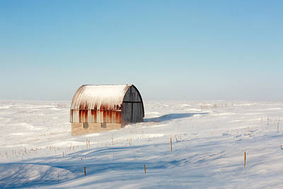 Shed Photograph - Wind Draped by Todd Klassy