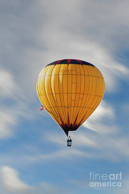 Photograph - Wind Driven Balloon by Dan Friend