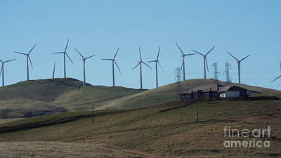 Photograph - Wind Farm by Brett Chambers