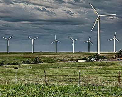 Photograph - Wind Farm by Charles McKelroy