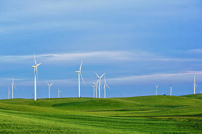 Photograph - Wind Farm by Randy Bayne