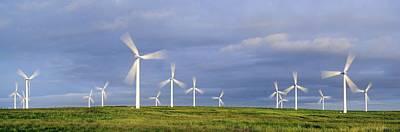 Wind Farm, Scotland Art Print