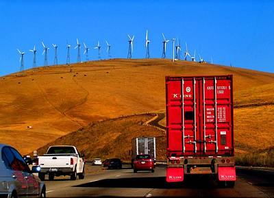 Photograph - Wind Farms by Elizabeth Hoskinson
