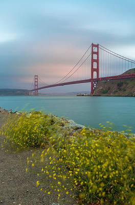 Blue Hues - Wind-Fog-and-The Bay by Jonathan Nguyen