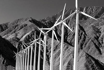 Photograph - Wind Generators by Jeff Phillippi