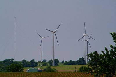 Photograph - Wind Generators by Kathryn Meyer