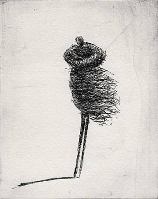 Drawing - Wind II by Valdas Misevicius
