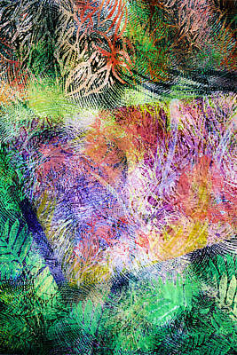 Wind In The Forest Art Print by Sue Reed