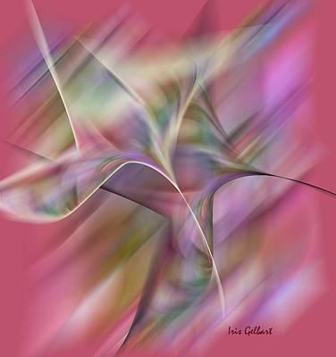 Digital Art - Wind by Iris Gelbart