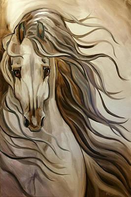 Wind Art Print by Leni Tarleton