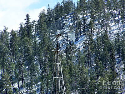Photograph - Wind Mill by Pamela Walrath