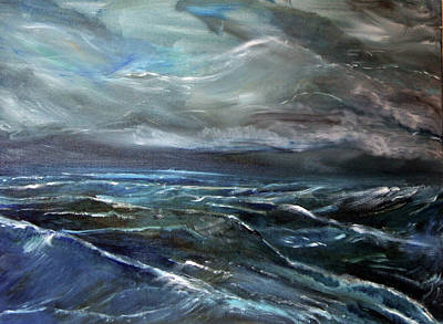 Painting - Wind On The Water by Michael Helfen