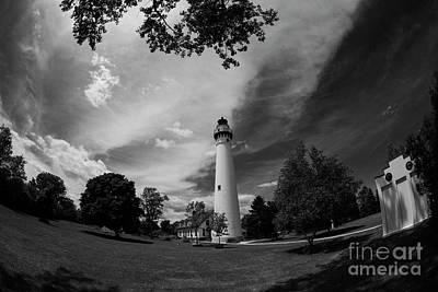 Photograph - Wind Point Lighthouse - Racine by David Bearden