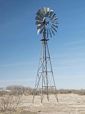 Photograph - Wind Power Arizona  by Jim DeLillo