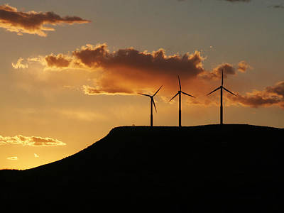 Photograph - Wind Power by Charles McKelroy