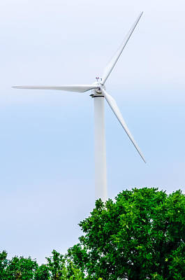 Stock Photograph - Wind Power by Erich Grant