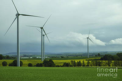 Photograph - Wind Power by Jutta Maria Pusl