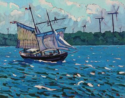 Wind Power Original by Phil Chadwick