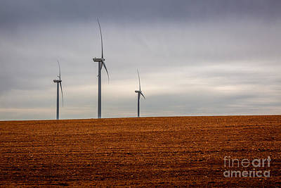 Photograph - Wind Power by Roger Monahan