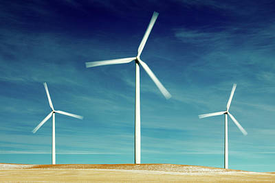 Photograph - Wind Power by Todd Klassy