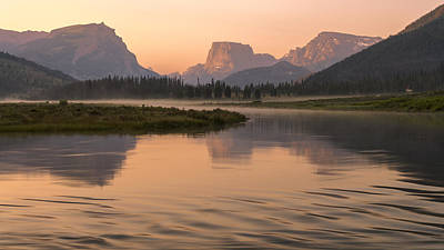 Photograph - Wind River Dawn by Dustin  LeFevre