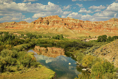 Photograph - Wind River by James BO Insogna