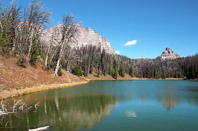 Photograph - Wind River Lake by Steve Stuller