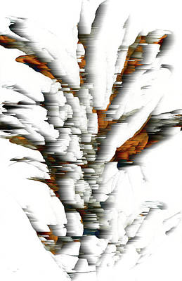 Art Print featuring the painting Wind Series 05.072311windblastscvss by Kris Haas