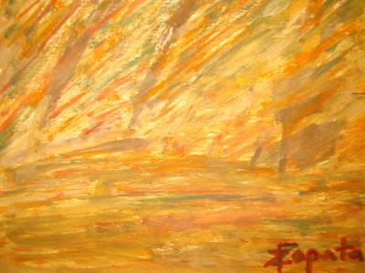 Wind Storm Art Print
