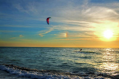 Photograph - Wind Surfer by David Arment