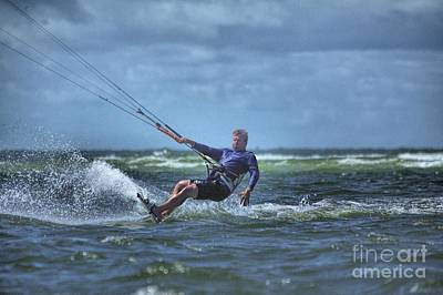 Sports Photograph - Wind Surfing 2 by Randy Matthews