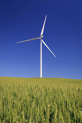 Photograph - Wind Turbine by Windy Corduroy
