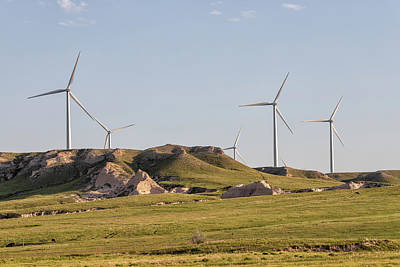 Photograph - Wind Turbines On The Colorado Plains by Tony Hake