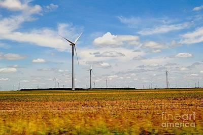 Jolly Old Saint Nick - Wind Turbines by Suneetha Horton