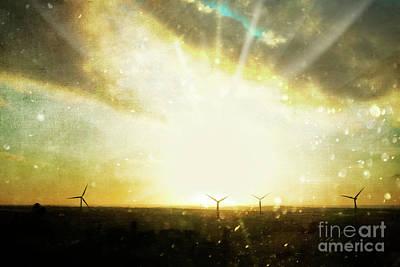 Photograph - Wind Turbines by Terri Waters