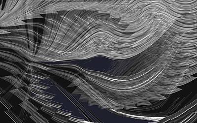 Digital Art - Wind Whipped by Cheryl Charette