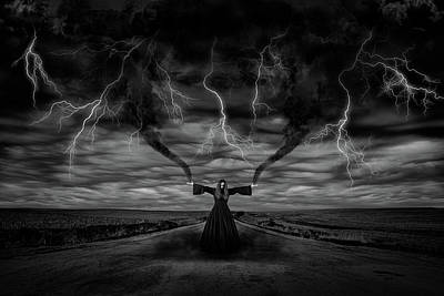 Photograph - Wind by Yvette Van Teeffelen