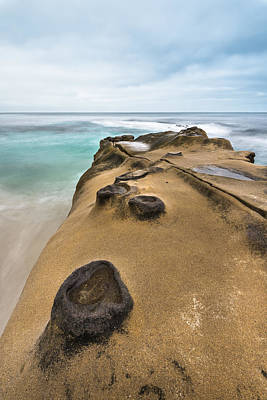 La Jolla Photograph - Windansea Concretions by Alexander Kunz