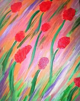Windblown Painting - Windblown by Carmela Maglasang
