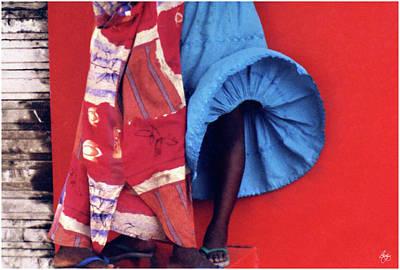 Photograph - Windblown Skirt by Wayne King