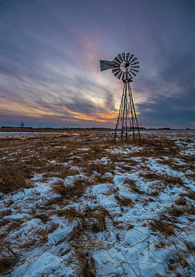 Photograph - Windchill by Aaron J Groen