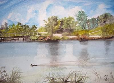 Windermere Australia Art Print
