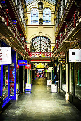 Photograph - Windham Shopping Arcade Cardiff by Chris Smith