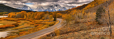 Photograph - Winding By Oxbow Bend by Adam Jewell