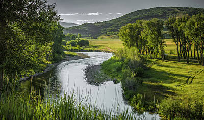 Photograph - Winding Elk River by Don Schwartz