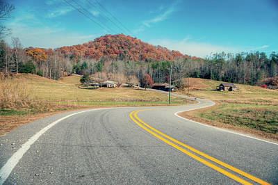 Photograph - Winding Highway by Ray Devlin
