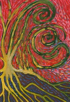 Winding IIi Art Print by Wojtek Kowalski