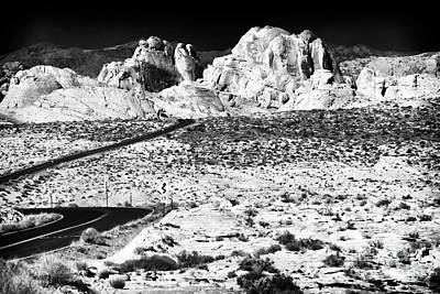 Photograph - Winding In The Desert by John Rizzuto