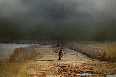 Photograph - Winding Missouri Road by Jai Johnson