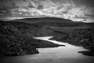 Photograph - Winding River, Wawa Ontario by Joshua Hakin